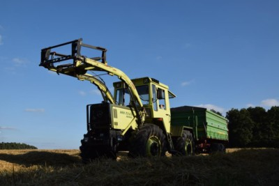 Getreideabfuhr